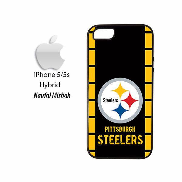 Pittsburgh Steelers Custom iPhone 5/5s HYBRID Case Cover