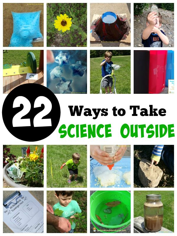 22 Outdoor Science Experiments and Activities - take science outside with these fun ideas!