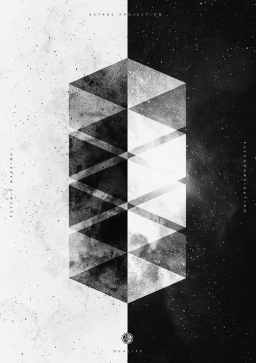 graphic design inspiration in black and white – geometric | typography / graphic design: Nicolas Lalli @ behance |