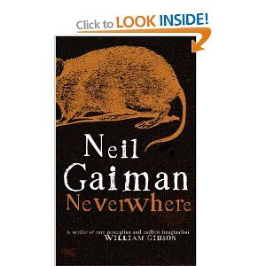 Neverwhere by Neil Gaiman. More brilliant Mr Gaiman. London as it should be.