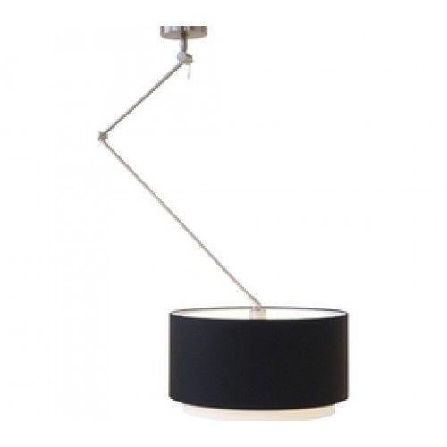 Flexi solo hanglamp met flexibele arm verstelbaar 4730 kap  katoen