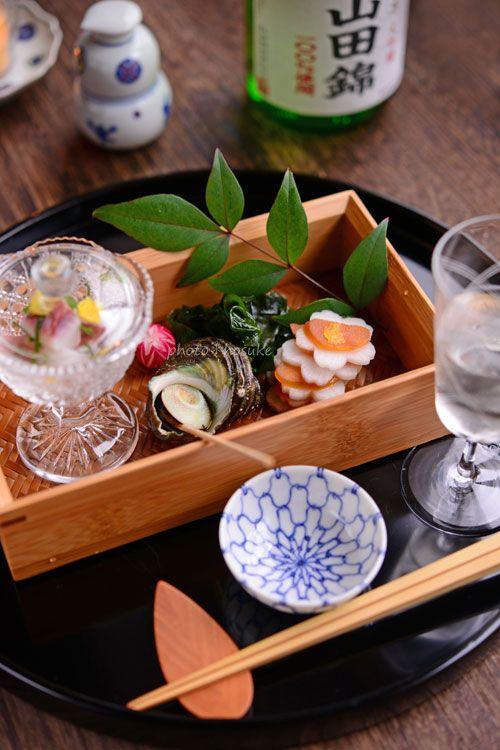 「サザエの煮つけ」 - 花ヲツマミニ