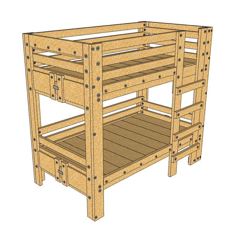 Bunk Bed Plans, Twin Bunk Beds, 3/4 Beds, Twin Xl, Mattresses, Home  Projects, Kid Rooms, Project Ideas, Room Ideas
