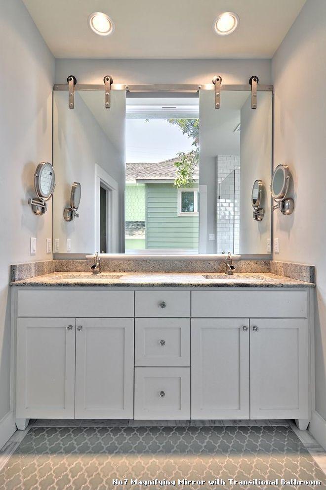 Web Photo Gallery No Magnifying Mirror Bathroom