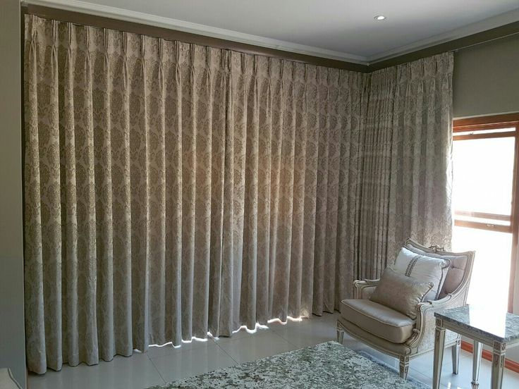 Curtains with Fan Pleat Heading