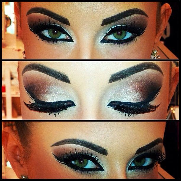 Great stage makeup for eyes!