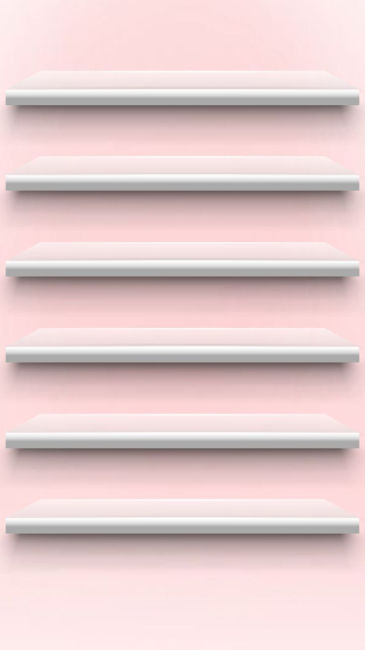 Pale pink / shelves back ground / for iPhone