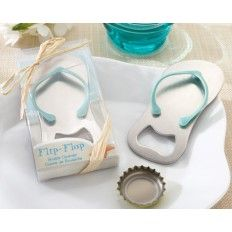Flip Flop Bottle Opener Wedding Favour
