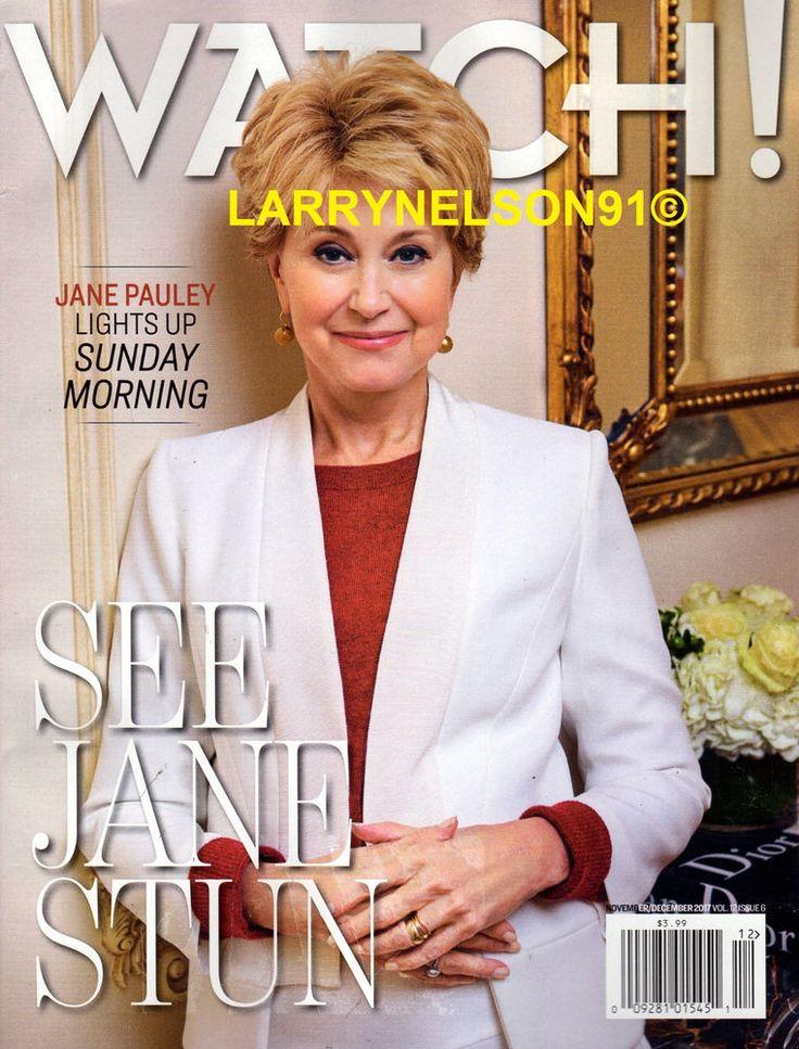 CBS WATCH! MAGAZINE NOVEMBER DECEMBER 2017 JANE PAULEY SUNDAY MORNING SMLIF SWAT