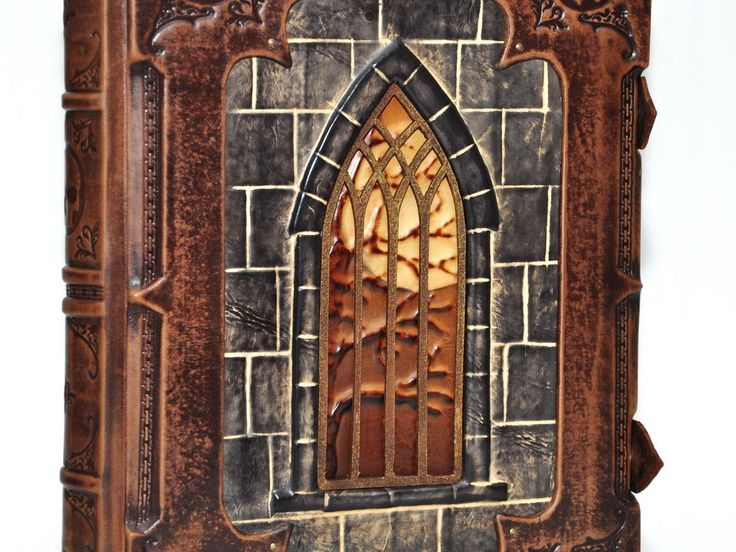 Vampire story-Leather journal, ooak bookbinding. I take custom orders and ship world wide!