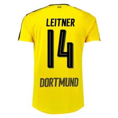 BVB Borussia Dortmund 16-17 Moritz Leitner 14 Hjemmebanetrøje Kortærmet.  http://www.fodboldsports.com/bvb-borusland-dortmund-16-17-moritz-leitner-14-hjemmebanetroje-kortermet.  #fodboldtrøjer