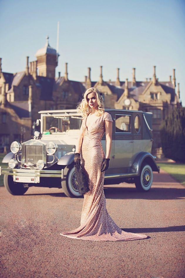 The wedding car !!