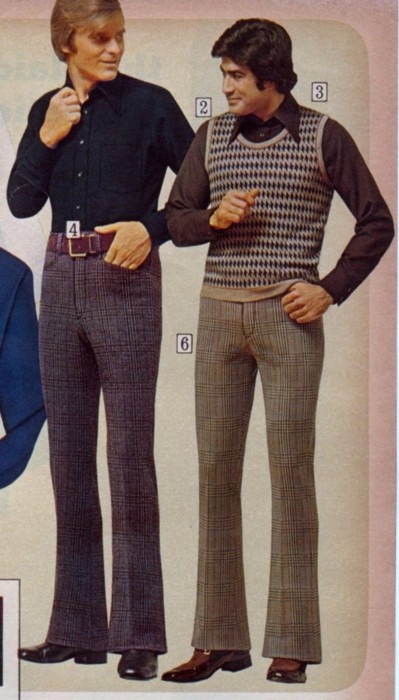 1970s men's casual clothing, i pinned this because the ...