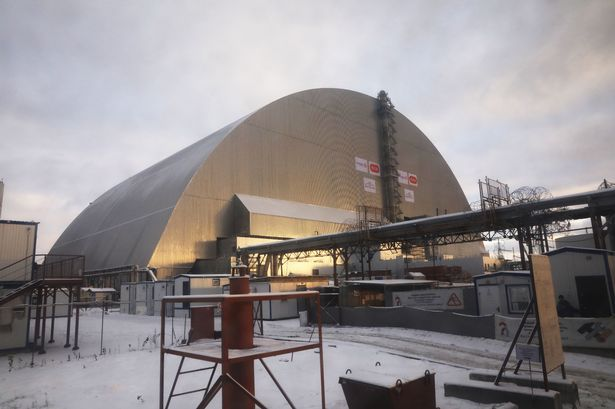 Chernobyl reactor entombed in giant steel shield 30 years after worst nuclear disaster in history - Mirror Online