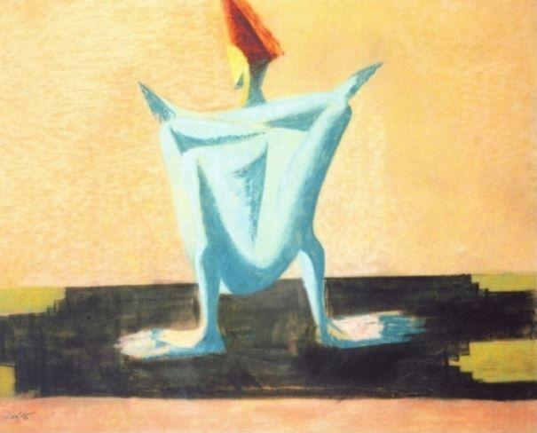 František Tichý - Contortionoist #painting  #art #Czechia