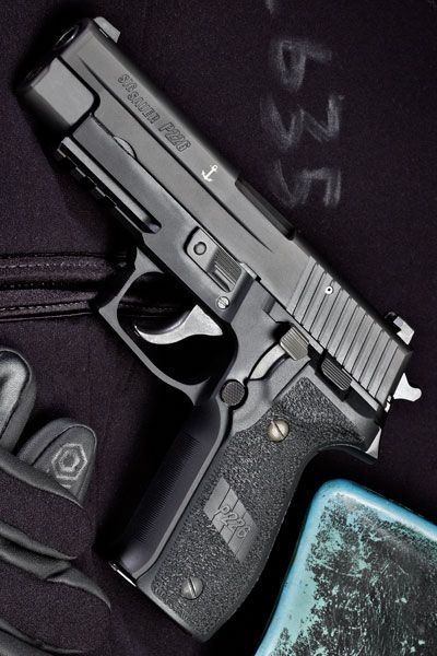 SIG SAUER - P226 MK25 4.4IN 9MM HANDGUN SEMI AUTO PISTOL FIREARM BLACK POLYMER SIGLITE NIGHT SIGHTS 15+1RD @aegisgears
