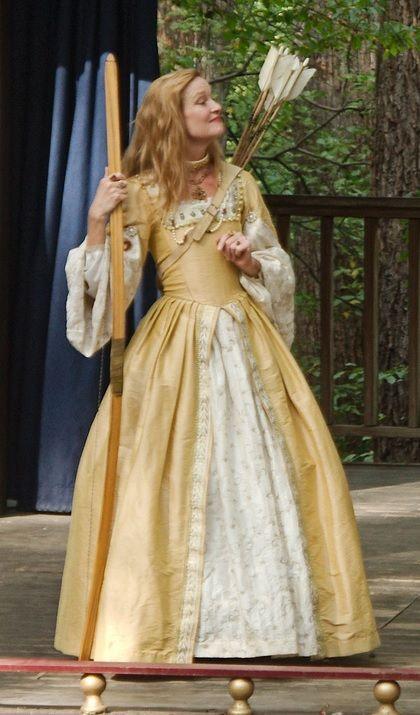 Tudor Yellow Gown