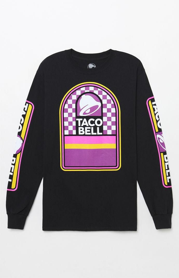 Taco Bell Long Sleeve TShirt Summer outfits, Taco bell