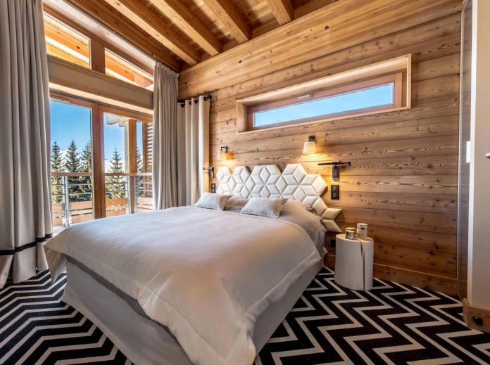 Contemporary mountain style apartment in Les Arcs designed by AMDECO - CAANdesign | Architecture and home design blog