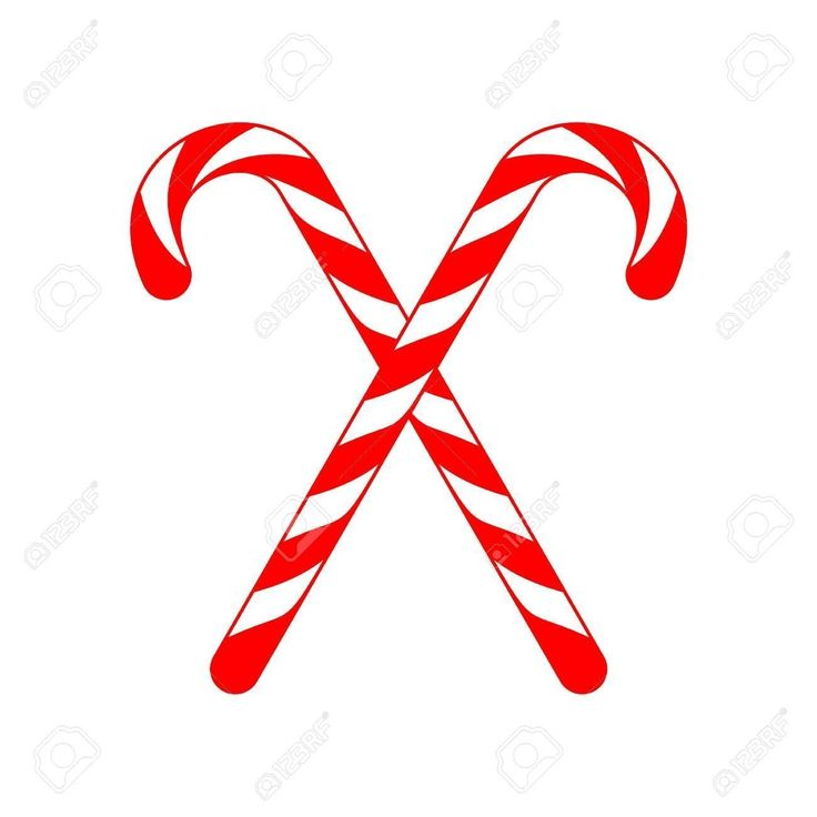 christmas illustration #christmascookies #christmas #cookies Christmas Candy Cane Cross Illustration , #spon, #Candy, #C…