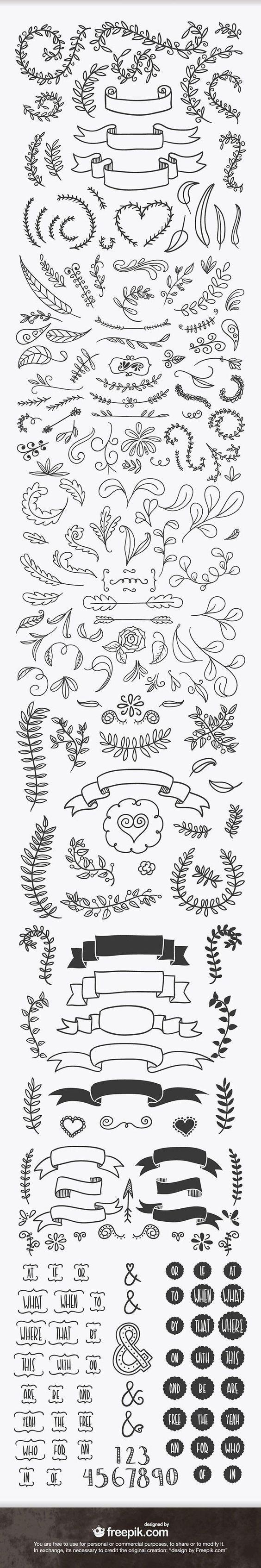 <a href='http://www.freepik.com/free-vector/hand-drawn-flowers-collection_1065449.htm'>Designed by Freepik</a>