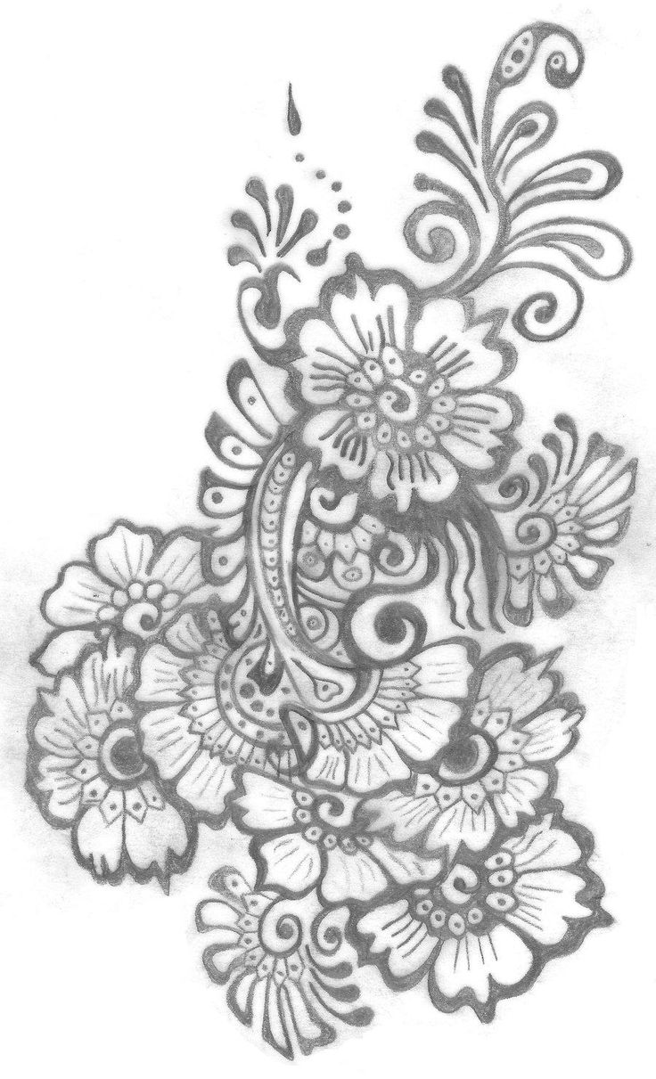 1000 ideas about traditional henna designs on pinterest traditional - My Mehndi Tattoo Design By Shurumitattoomi Traditional Art Drawings