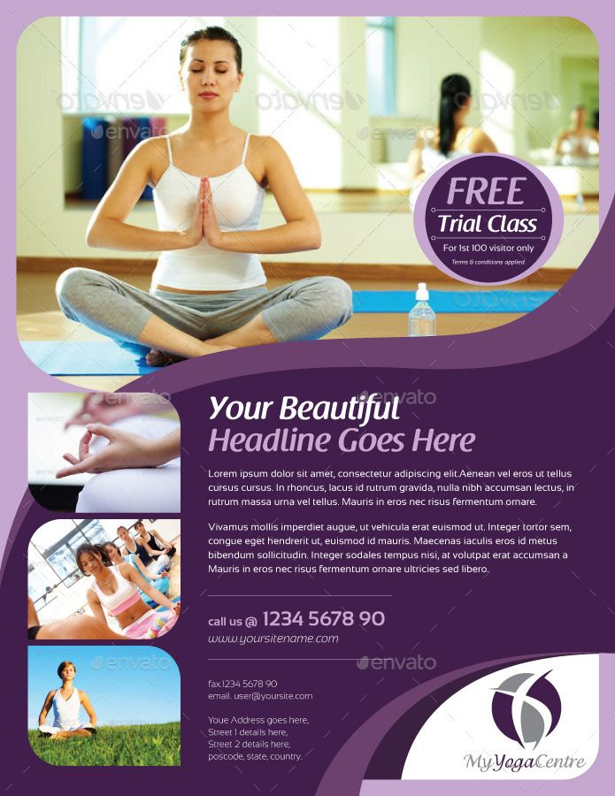 Simple Yoga Flyer Vol  Flyers    Simple Yoga And