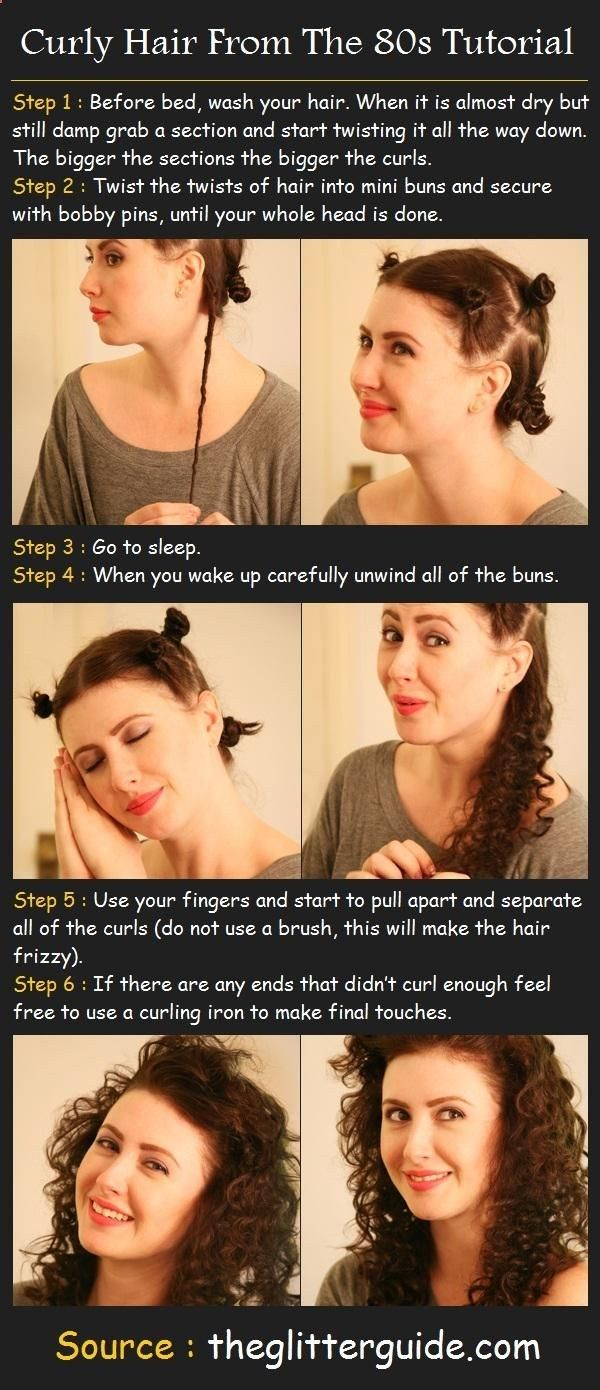 How To Curly Hair From The 80s