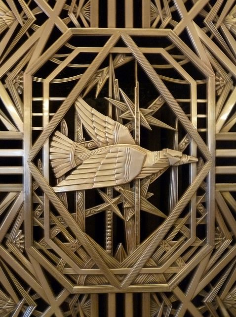 Chicago, 1 N. LaSalle Street, Brass Art Deco Decoration by lalobamfw (Thanks for 1.6 Million Views) on Flickr.