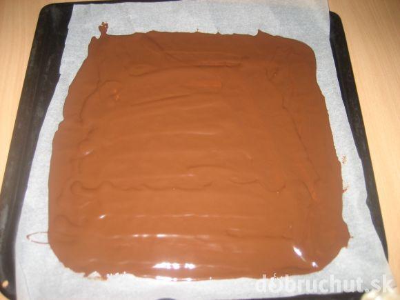 Fotorecept: Nanuková torta - domáca Vienetta