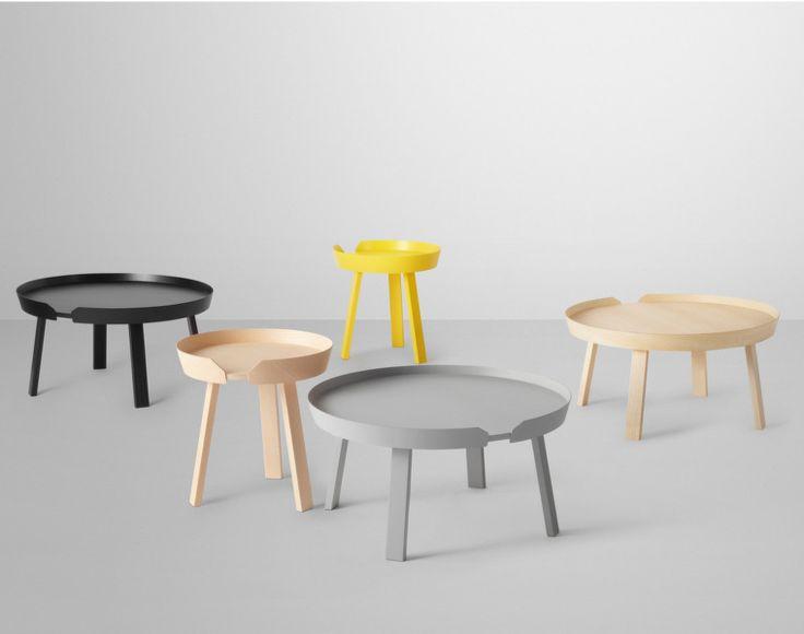 Stolek Around Coffee Table od Muuto malý žlutý   DesignVille
