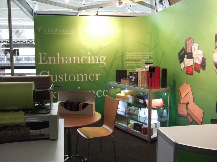 Woodway's stand at Luxury Packaging Exhibition last week - Great 2 days!