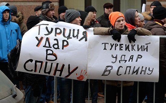 Впервые послепереворота наУкраине в2013 году Украина перестала быть главным врагом России вподаче российскихСМИ. Ее место вконце 2015 года заняла Турция, следует изданных подсчета компании «Медиалогия»