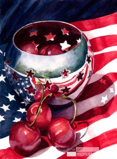 Liberty Bowl by Marsha Chandler - Click Image to Close