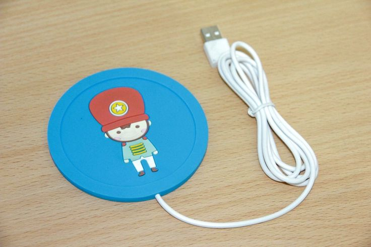USB Cup Warmer Blue Rp 55.000