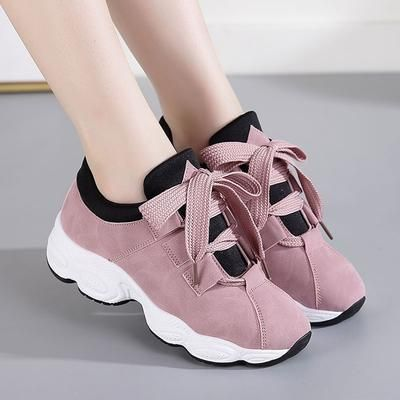 Women Flat Sneakers Breathable Lace up Canvas Vulcanize Shoes