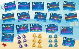 Math Strategy Game - NIM - Addition
