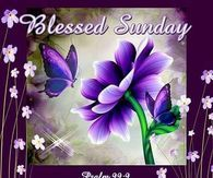 Blessed Sunday