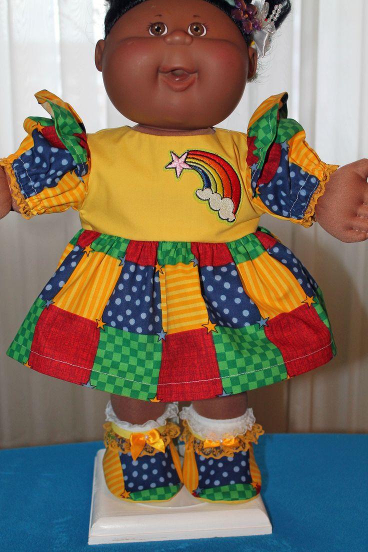 20 Best Cabbage Patch Doll Clothes Images On Pinterest