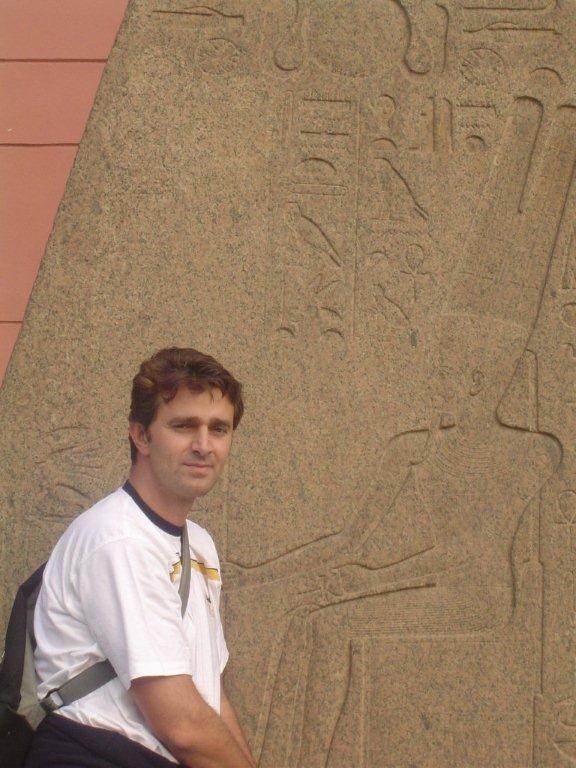 Amon Ra, (alias AR - Andrea Ruscica) all'inizio della carriera quando ancora progettava piramidi