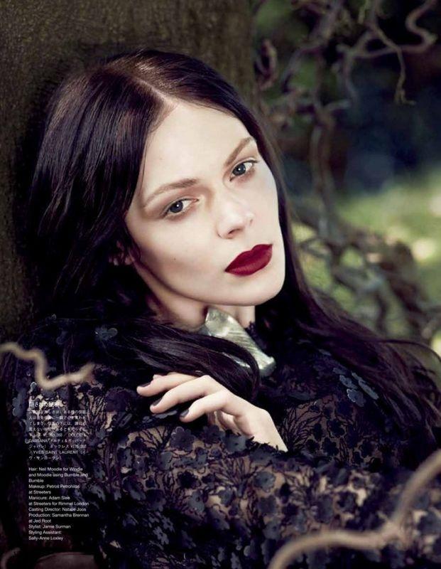 Kinga Rajzak by Jem Mitchell for Vogue Japan September 2012