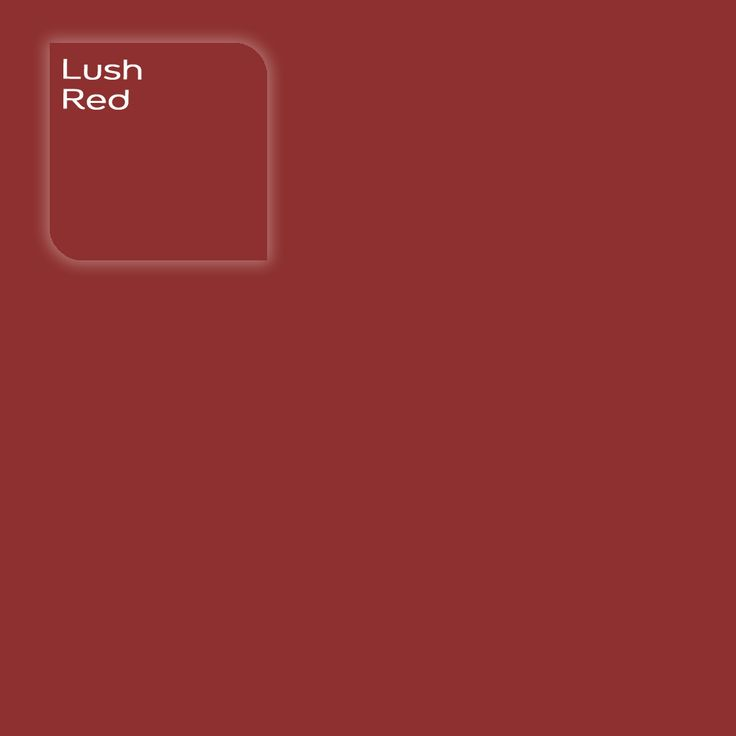 Pure by Flexa Colour Lab® kleur: Lush Red. Verkrijgbaar in verfspeciaalzaken.