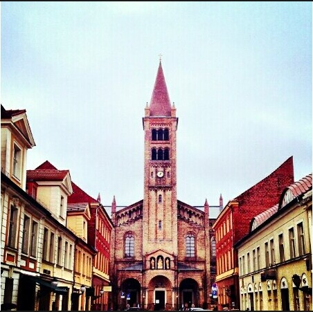 Church in the city Center :) #Instraveller    Picture Courtesy: Savya Sachi #CoxandKings