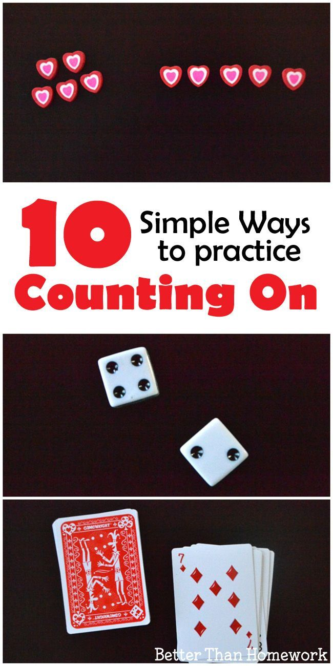 10 Simple Ways to Practice Counting On