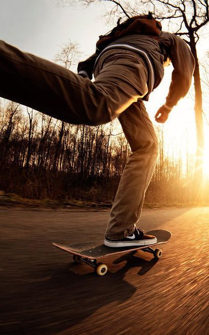 Erik Journee skating in Denekamp, Netherlands. #skateboard #speed #photography
