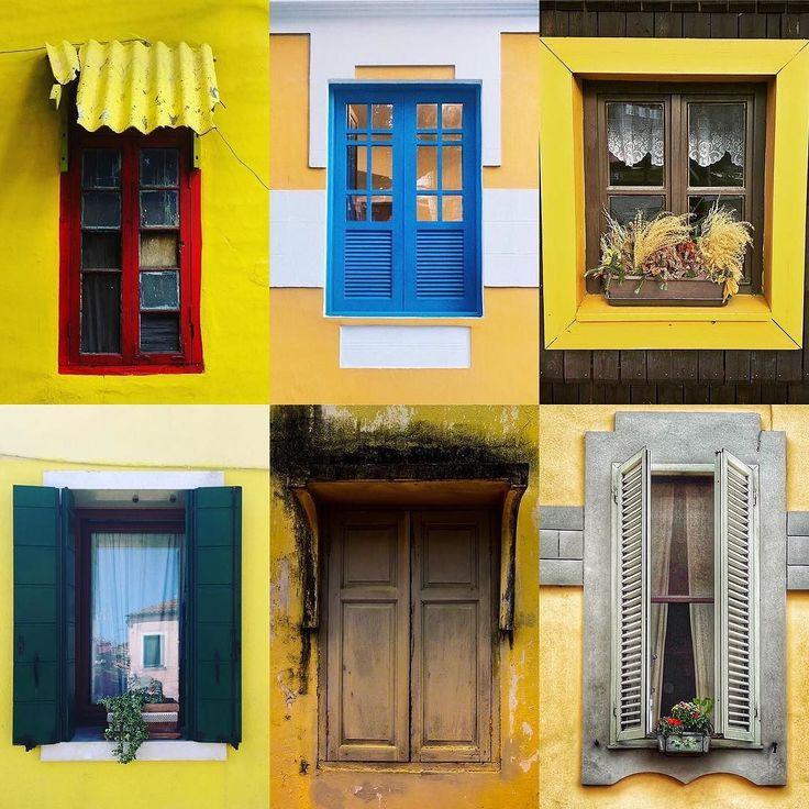 Windows by:  R1C1: @rohitcadz R1C2: @heapsyj R2C1: @isadoraslessa R2C2: @xpresstour R3C1: @ilonasilona R3C2: @kalella45  Congratulations!  Tag #windowsanddoorsoftheworld to be featured!