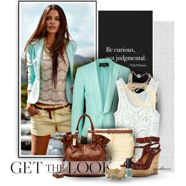 Summer Outfit: Outfits Fashion, Summer Style, Cynthia335, Summer Outfits, Fashionista Trends, Get The Look, Polyvore