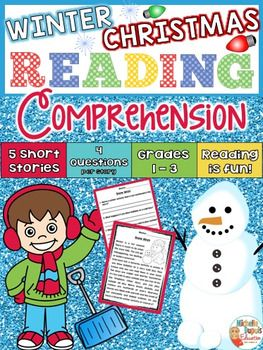 This resource includes 5 Winter/Christmas Short Stories with comprehension questions that are perfect for small group instruction, whole group instruction, centers, assessment or homework.