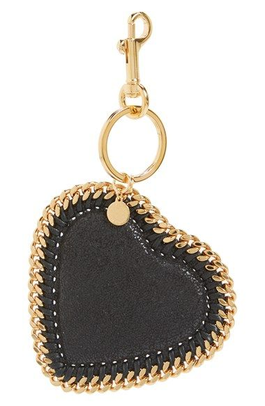 Stella McCartney Heart Bag Charm available at #Nordstrom