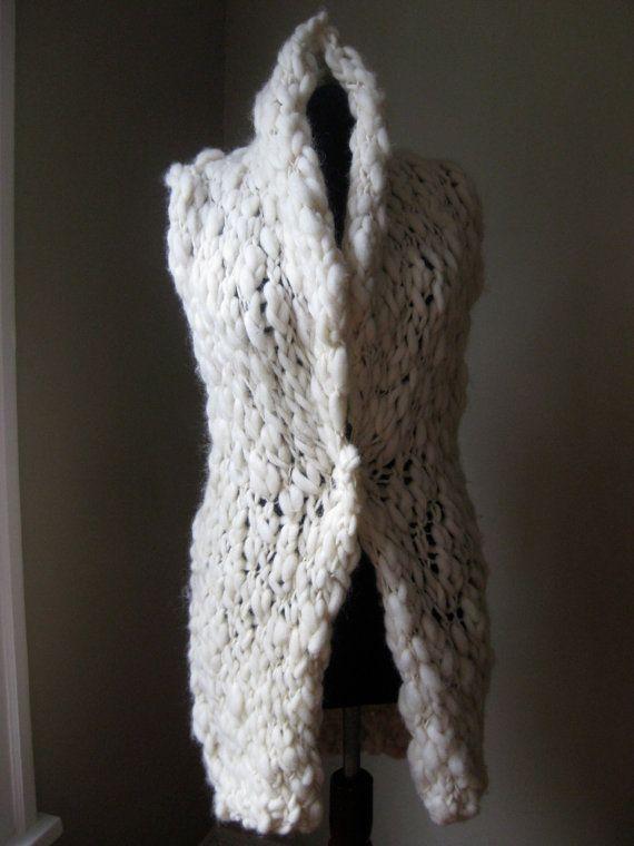 Arm Knitting Vest : Best luna portenia hand made vests images on pinterest